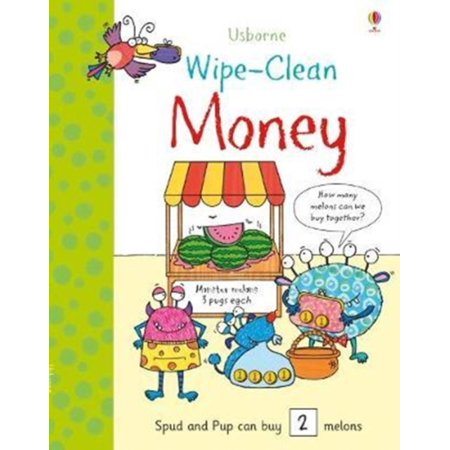 WIPE CLEAN MONEY - Halloween Math Money Activities