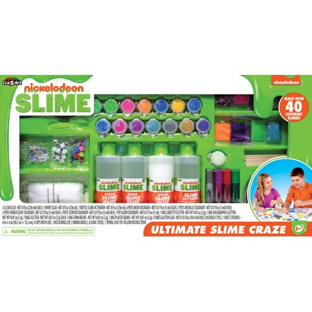 Nickelodeon Ultimate Slime Craze! Makes 40 Different Slimes!