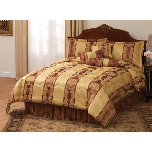 7-Pc King Comforter Set