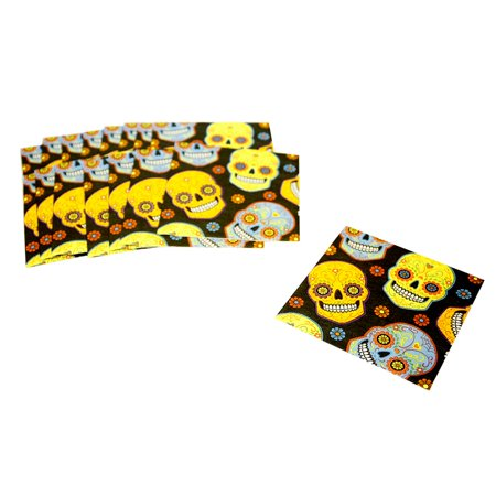 Day of the Dead Sugar Skull Lunch - Sugar Skull Party Supplies