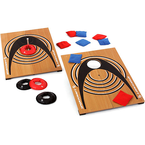 Bean Bag Toss and Ring Toss Quoits Set