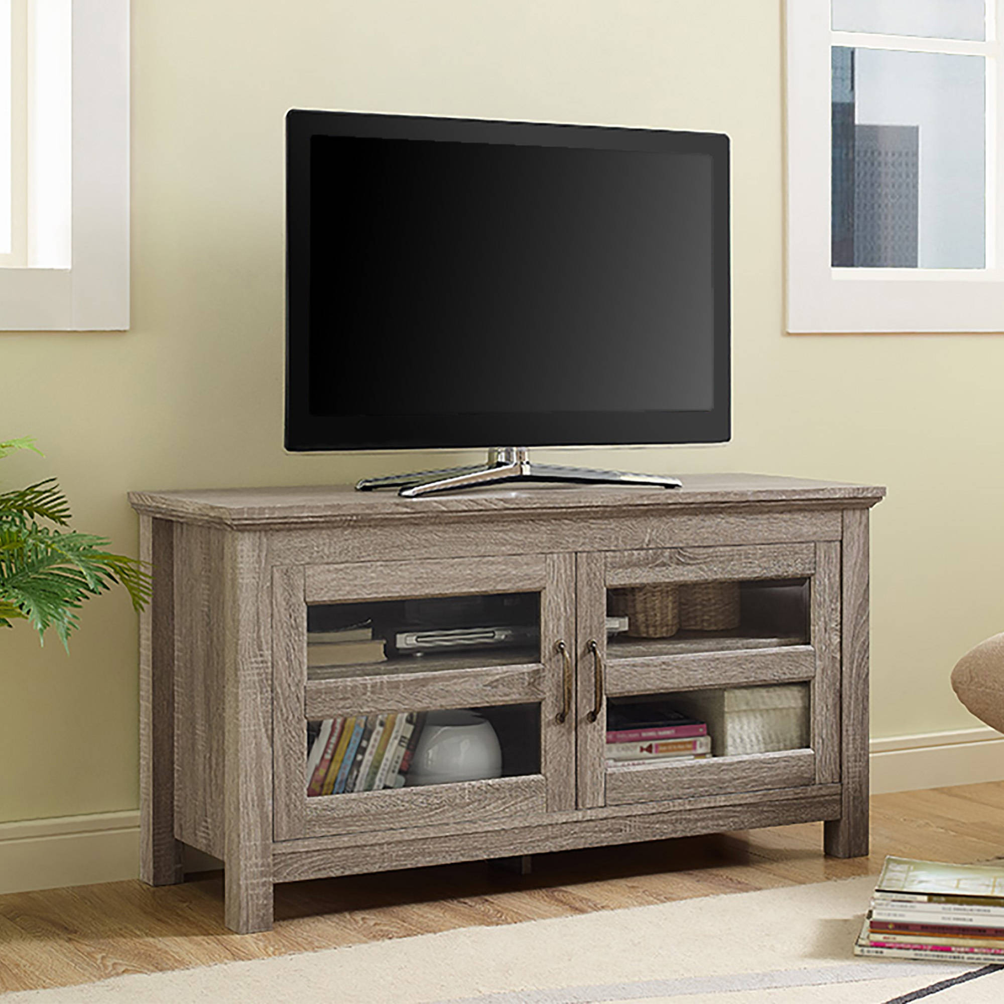 Driftwood TV Stand for TVs up to 48