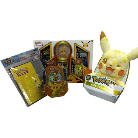 Pikachu Gifts (Pikachu Plush Gift Bundle)