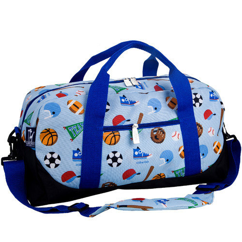Olive Kids Game On Overnighter Duffel Bag