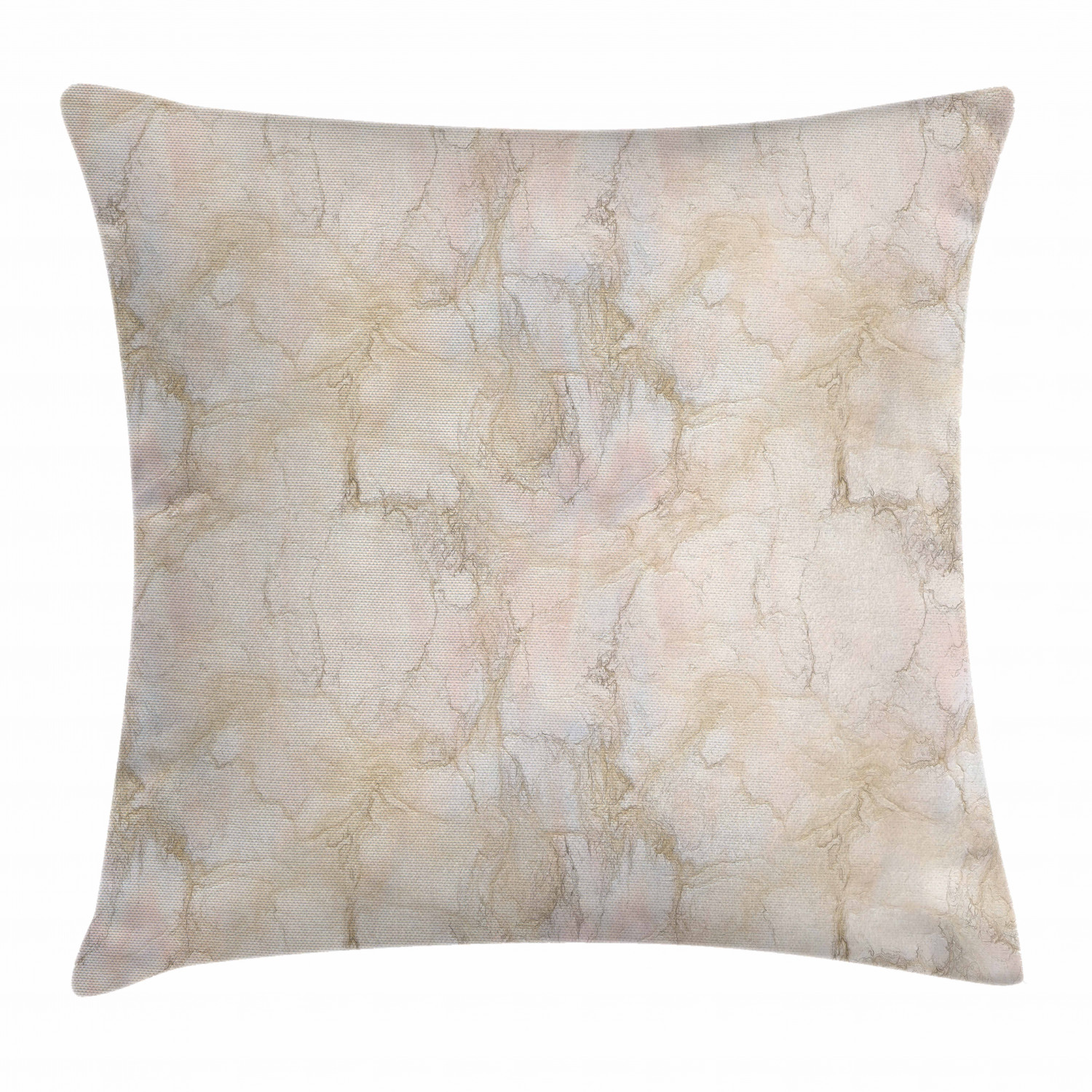 marble throw pillow cushion cover pink and peach marble background with crack patterns architecture building material decorative square accent pillow case 20 x 20 inches pink peach by ambesonne walmart com walmart com walmart