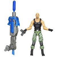 G.I. Joe Retaliation - Roadblock Figure, Rough and ready Roadblock figure can fight at close quarters or from a distance with his Battle-Kata weapon.., By G I Joe