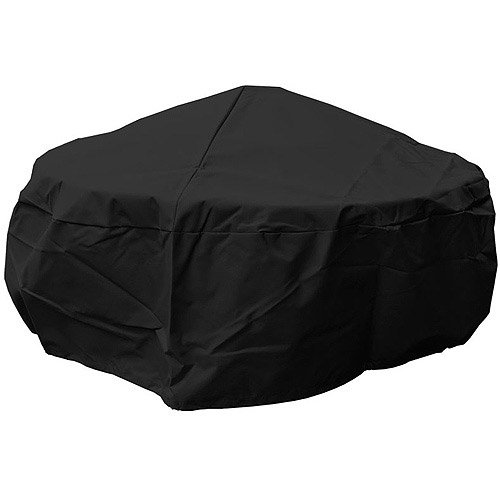 Mr. Bar-B-Q Premium Fire Pit Cover, Black