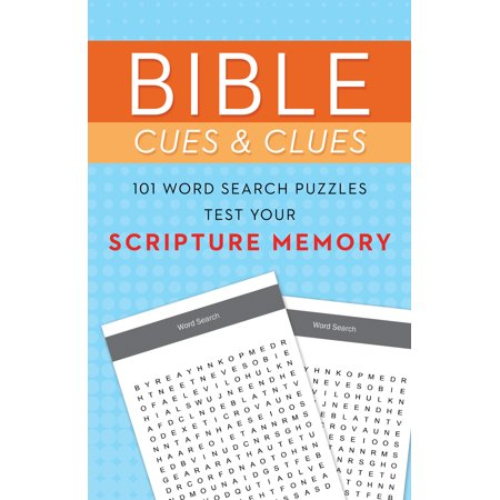 Bible Cues and Clues: 101 Word Search Puzzles Test Your Scripture - Graduation Scriptures