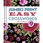 Jumbo Print Easy Crosswords #9