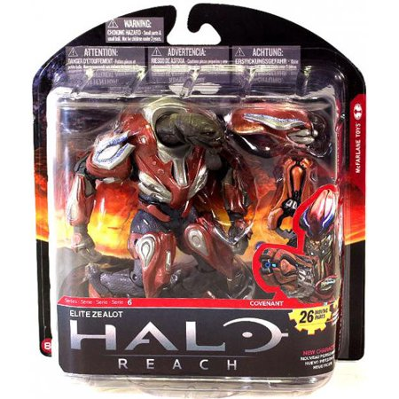 McFarlane Halo Reach Series 6 Elite Zealot Action