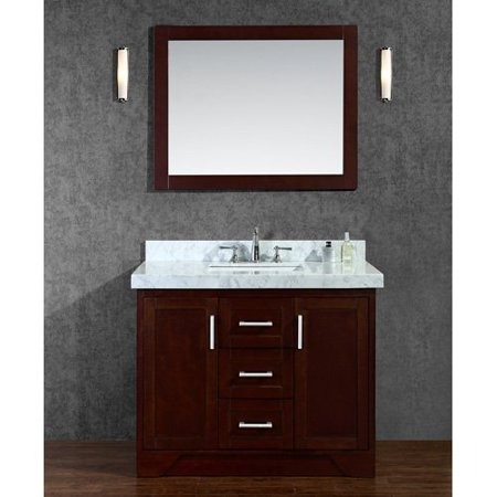SeaCliff by Ariel SC-ASH-42-TWA Ashbury 42 in. Single Bathroom Vanity Set
