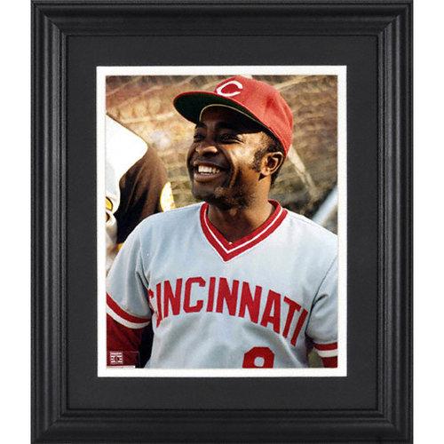 MLB - Joe Morgan Cincinnati Reds Framed Unsigned 8x10 Photograph