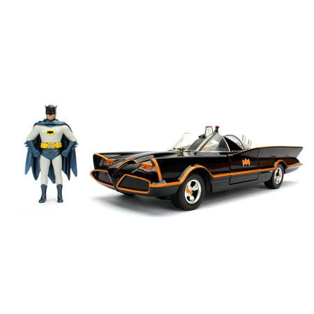 Classic TV Series Batmobile with Batman and Robin Figures 1:24 Scale](Classic Batman)