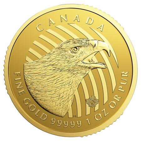 2018 RCM Golden Eagle Call of the Wild Series 1 oz Coin