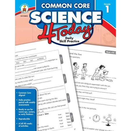 Image of Common Core Science 4 Today, Grade 1: Daily Skill Practice