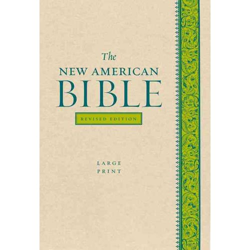 The New American Bible: Pacific Duvelle Tan / Blue
