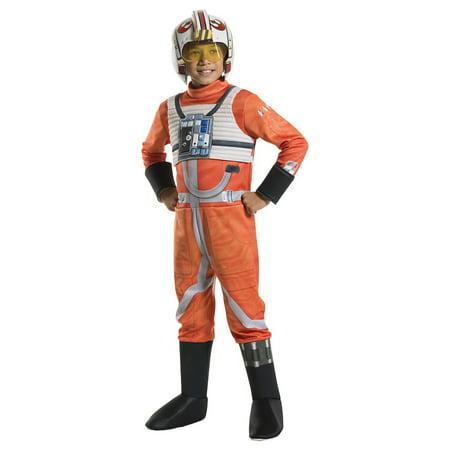X Wing Fighter Pilot Child Costume - Medium - Fighter Jet Pilot Costume