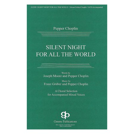 Gentry Publications Silent Night for All the World Score & Parts Composed by Pepper