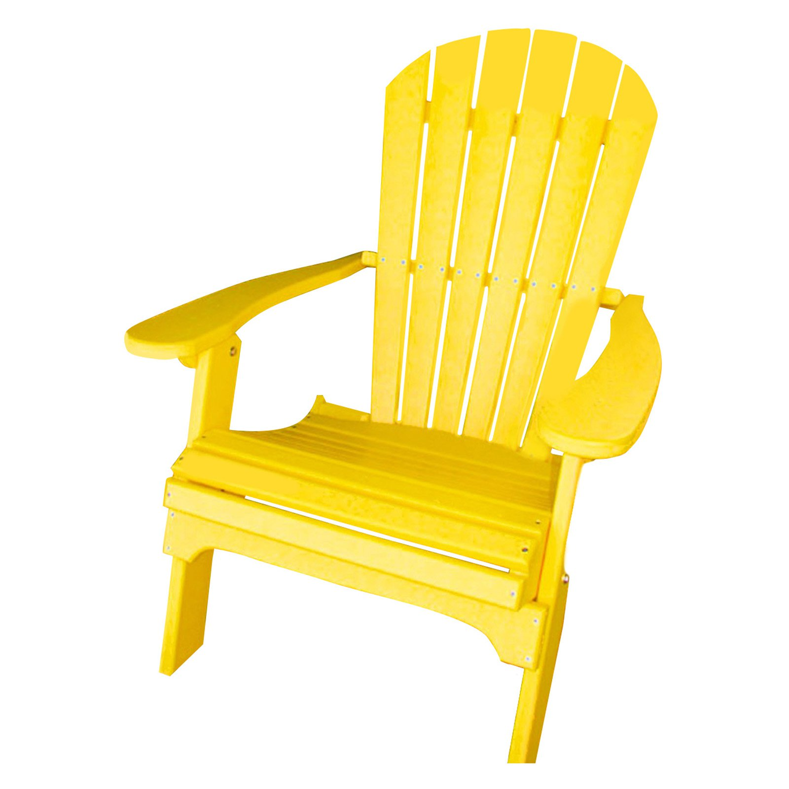 Phat Tommy Recycled Plastic Folding Adirondack Chair by Buyers Choice