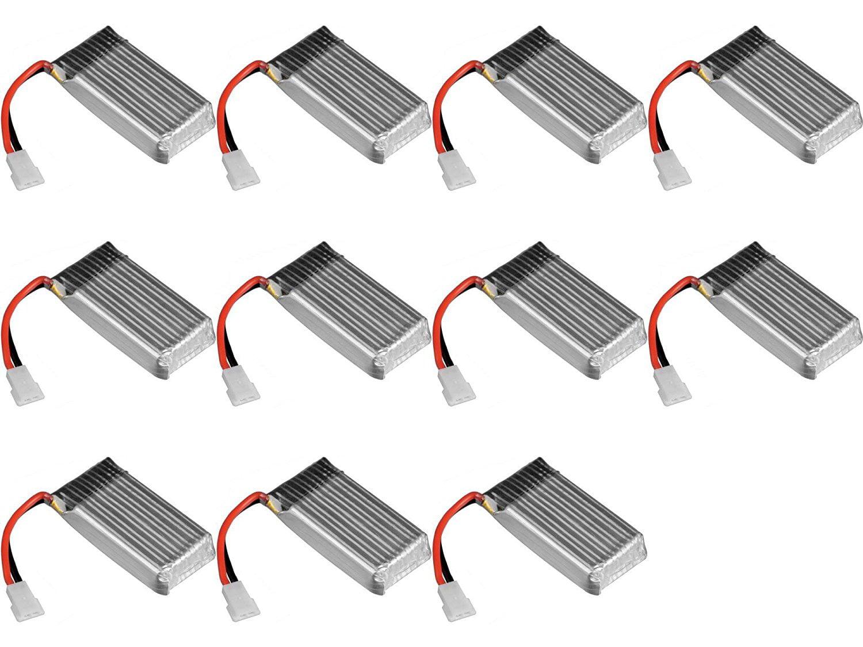 11 x Quantity of The Flyer's Bay Beetle Quad-Copter Battery 3.7v 380mAh 25c Li-Po RC Part by