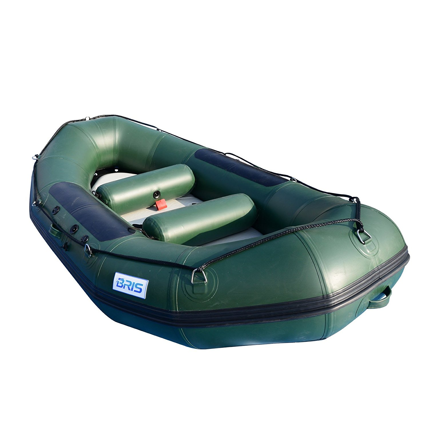 BRIS 9.8Ft Inflatable White Water River Raft Inflatable Boat Floating Tube
