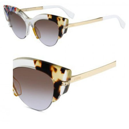 Fendi Jungle FF 0178 TKW Womens Cat-Eye Sunglasses