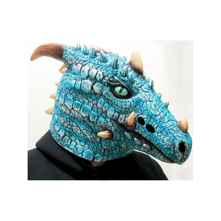 Ice Dragon Adult Mask Halloween Costume Accessory for $<!---->