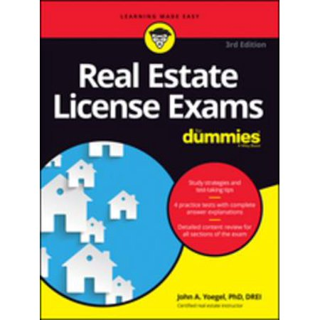 Real Estate License Exams For Dummies - eBook