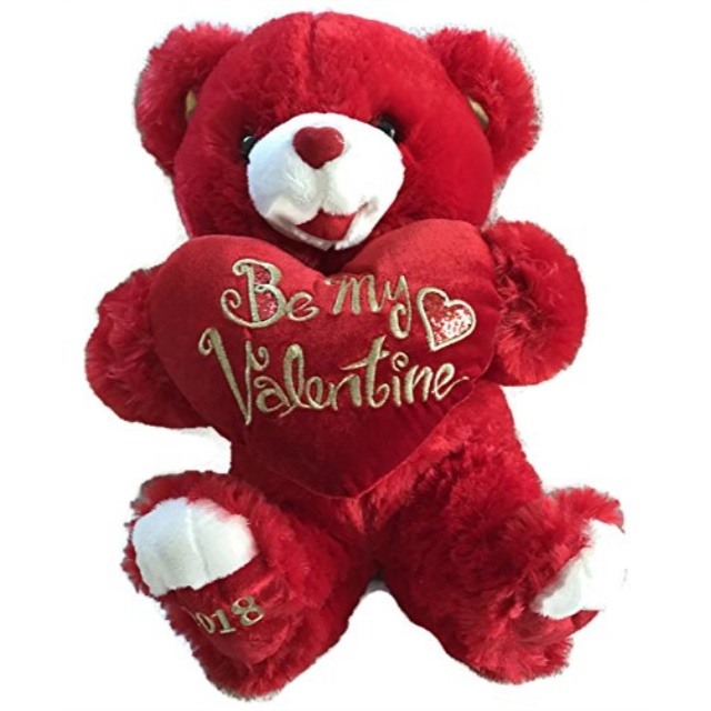 Baby Net For Stuffed Animals, Valentine S Day Stuffed 15 In Red Sweetheart Teddy Walmart Com Walmart Com