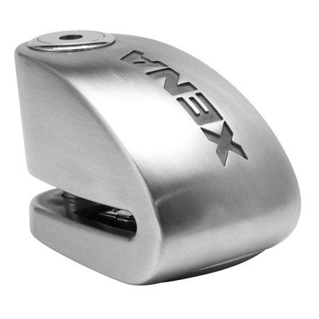 Xena XX10-SS XX10 Disc Lock Alarm - Stainless - Xena Alarm Disc Locks
