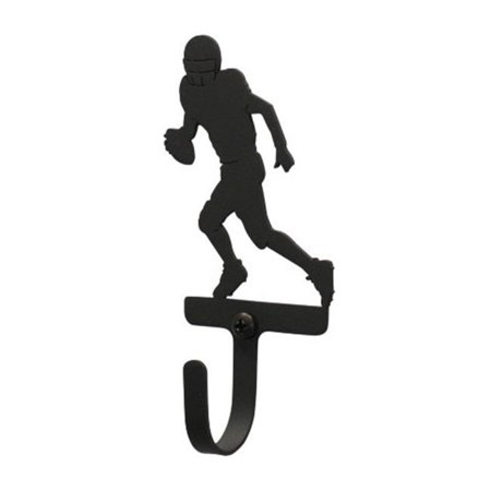- Football Player Wall Hook S - Black