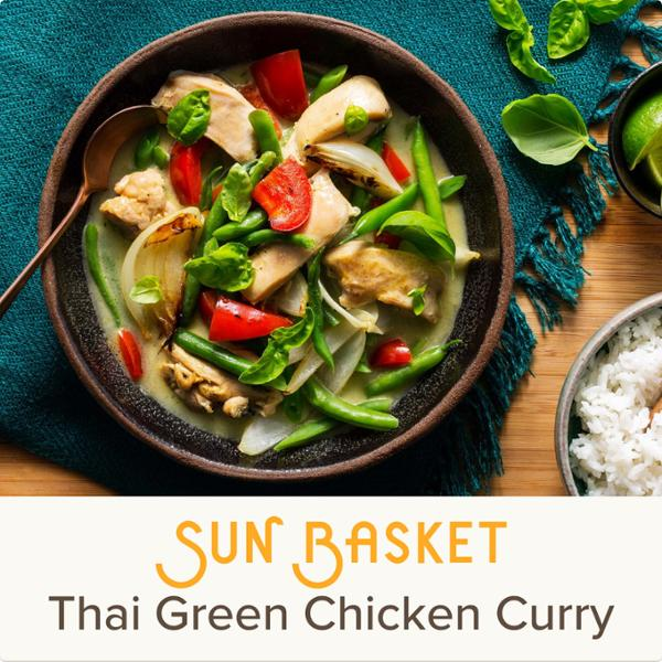 Sun Basket Meal Kits, 1 Recipe Serving 4, Organic Produce