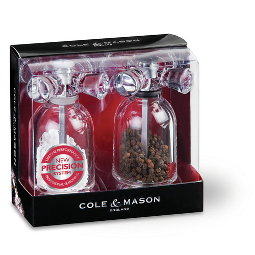 Click here to buy Cole & Mason 2 Piece Salt and Pepper Grinder Set by Zyliss.