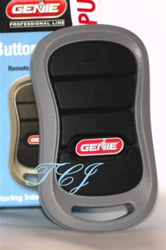 Genie G3T-BX 3-Button Garage Door Remote With Intellicode 390//315mhz