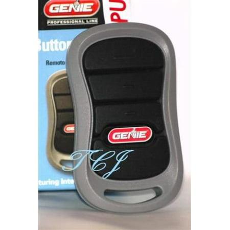 Genie 3-Button Remote - Auto Seek Dual Frequency 390/315 MHz (37218r)