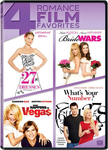 27 Dresses   Bride Wars   What Happens in Vegas by