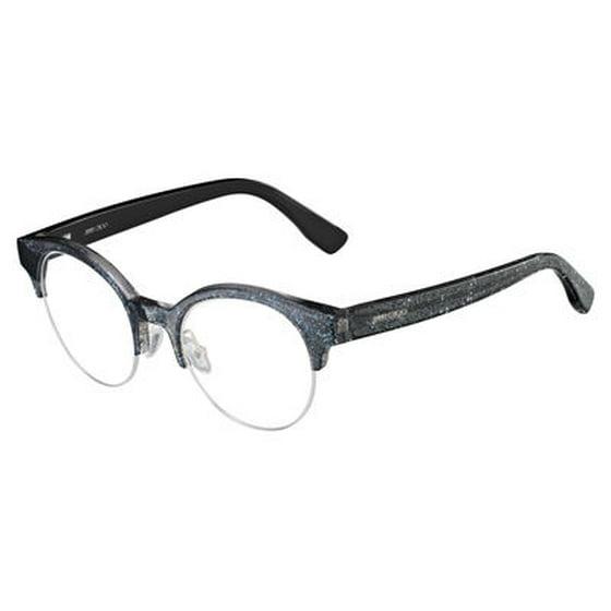 0ae72f15fee JIMMY CHOO - JIMMY CHOO Eyeglasses 151 0RBY Black Glitter 47MM ...