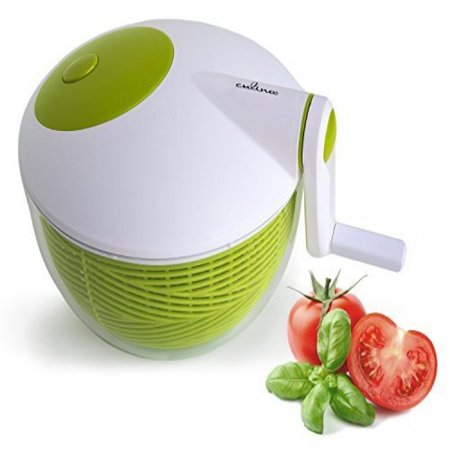 Culina Space Saver Salad Spinner, 3-Quart