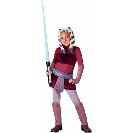 Star Wars Animated Deluxe Ahsoka Child Halloween Costume](Ahsoka Halloween Costume)