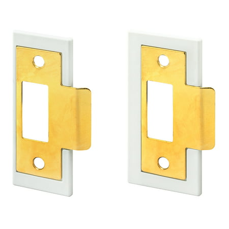 Prime-Line Products FAL2BR Fix-A-Latch Mixed Door Latch with Brass Finish, Pack of (Gold Silver Bronze Brass Iron Mixed With Clay)
