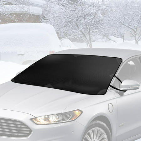 BDK Winter Defender - Car Windshield Cover for Ice and Snow, Magnetic Waterproof Frost