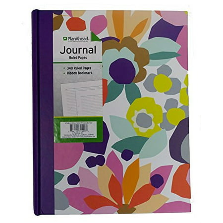 Jumbo Journal (planahead jumbo bound journal; 340 ruled pages with ribbon bookmark; color may)