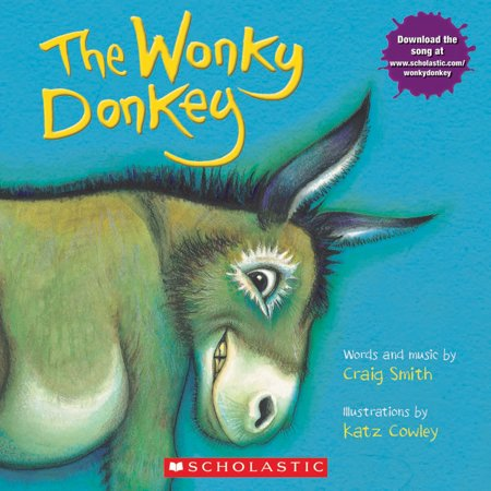 The Wonky Donkey (Paperback) - Children's Halloween Books Online