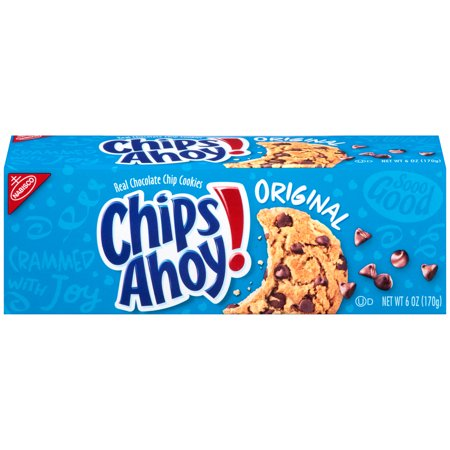 Nabisco Chips Ahoy Chocolate Chip Cookies Convenience Pack, 6 oz