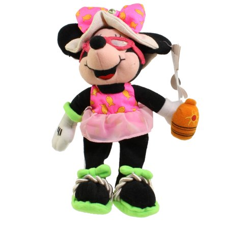 Disney Bean Bag Plush - AUGUST BIRTHSTONE MINNIE (Mickey Mouse) (9 inch)](Minnie Y Mickey Halloween)