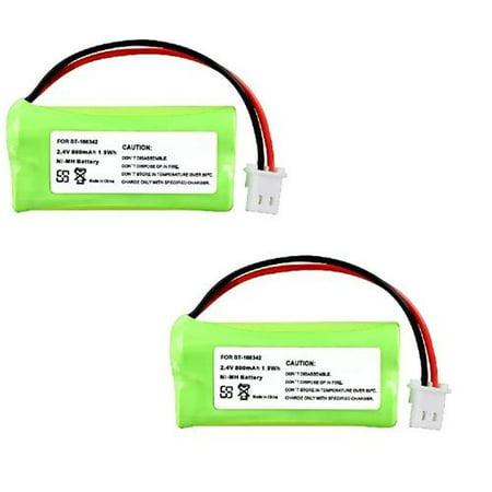 Insten 2 Cordless Home Phone Battery Pack for VTech BT166342 BT266342 BT183342 BT283342