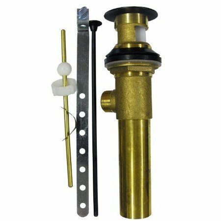 LASCO 03-4629 1-1/4-Inch Brass Lavatory Pop-up Drain Assembly Oil Rubbed