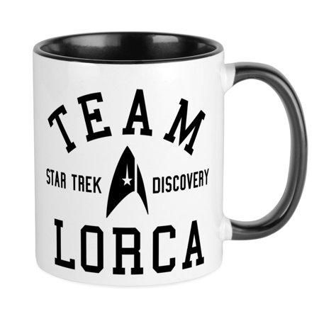 36452e9b2 CafePress - Star Trek Team Lorca Mugs - Unique Coffee Mug, Coffee Cup  CafePress - Walmart.com