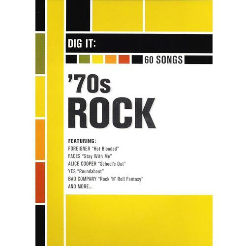 Dig It: '70s Rock (4 Disc Set)