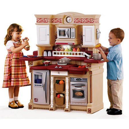 step2 party time kitchen play set play food value bundle